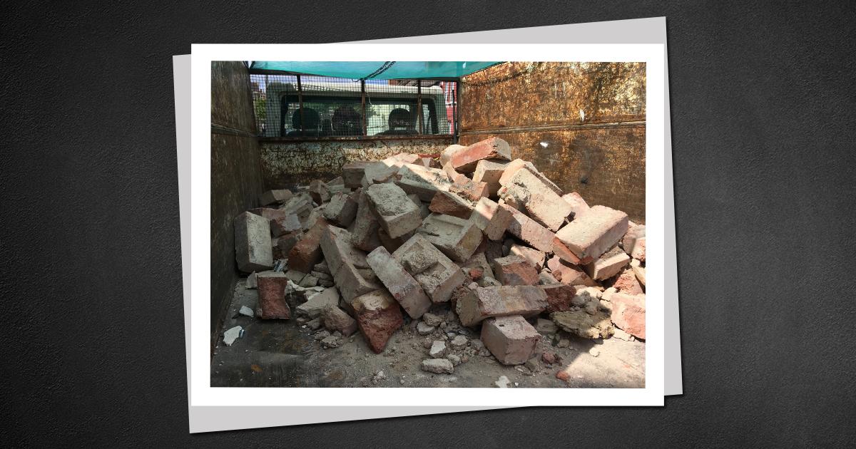 Barnet bricks disposal