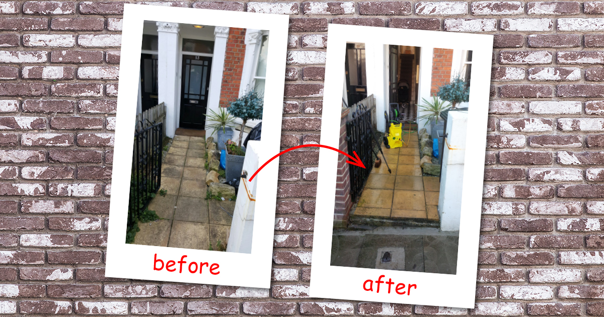 Jet wash cleaning in Finchley (Barnet)