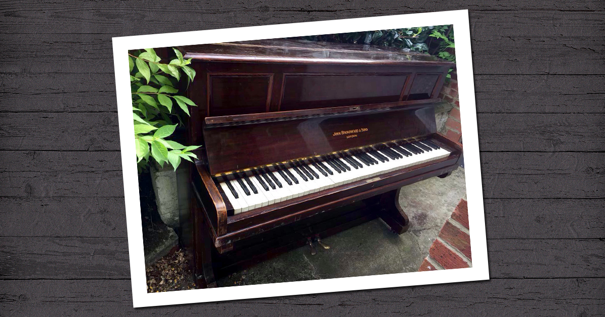 Piano Removal & Disposal