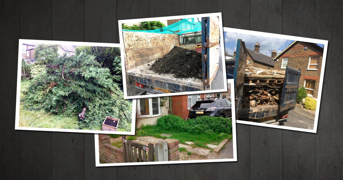 Crystal Palace rubbish removal