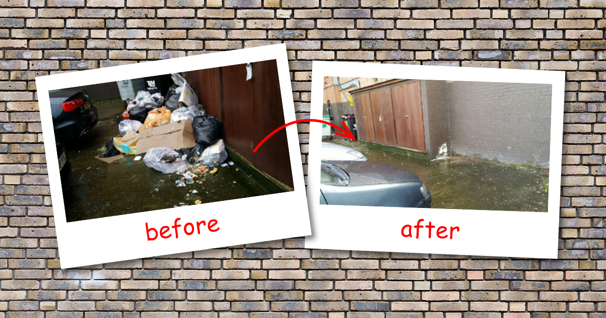 Wembley residential waste clearance