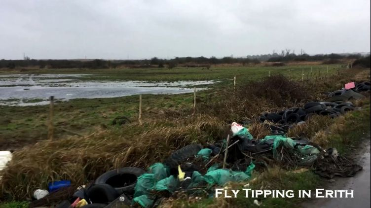 Beware of Fly Tipping in Erith